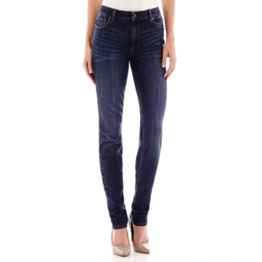 jcpenney.com | Liz Claiborne® City-Fit Skinny Jeans - Tall
