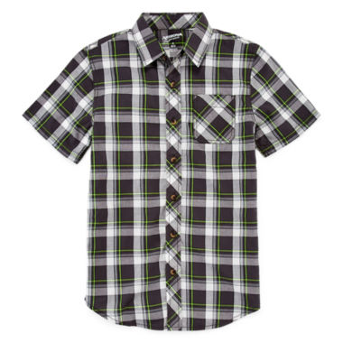 jcpenney.com | Arizona Button-Front Shirt - Boys 8-20 and Husky