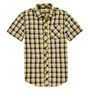 Arizona Button-Front Shirt - Boys 8-20 and Husky
