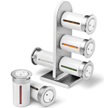 jcpenney.com | Zevro® 6-Canister Magnetic Countertop Spice Rack