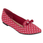 Restricted Next Week Polka Dot Flats