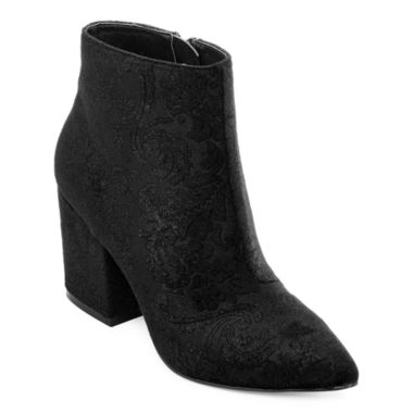 jcpenney.com | First Love By Penny Loves Kenny Pointed-Toe Wedge Ankle Boots