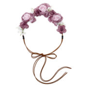 Mixit™ Roses Suede Cord Headband