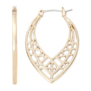 nicole by Nicole Miller® Gold-Tone Teardrop Earrings