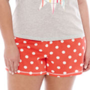 Sleep Chic® Knit Sleep Shorts - Plus