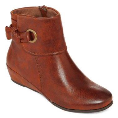 jcpenney.com | Yuu™ Saynie Wedge Ankle Booties