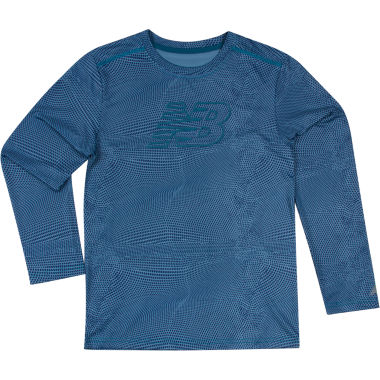 jcpenney.com | New Balance® Long-Sleeve Printed Performance Tee - Preschool Boys 4-7