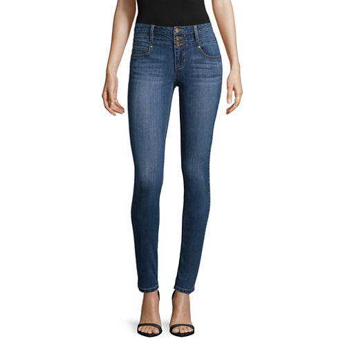 Blue Spice High-Rise Skinny Jeans - Juniors