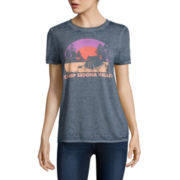 Arizona Short-Sleeve Burnout Graphic Tee