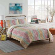 Vue™ Shoshana Reversible Cotton Quilt Set
