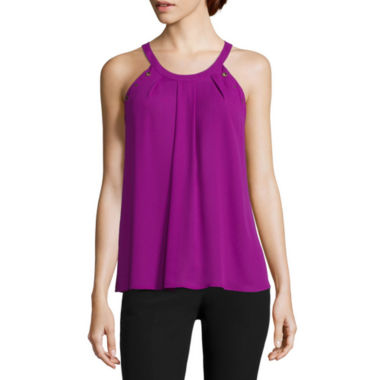 jcpenney.com | Worthington® Grommet Trapeze Top