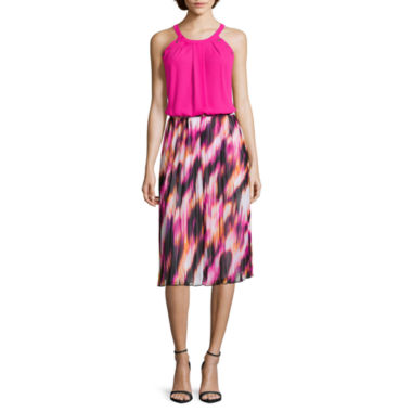 jcpenney.com | Worthington® Grommet Trapeze Tank Top or Pleated Midi Skirt