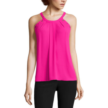 jcpenney.com | Worthington® Sleeveless Grommet Trapeze Top - Tall