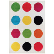 Couristan™ Polka Dot Rectangular Rug