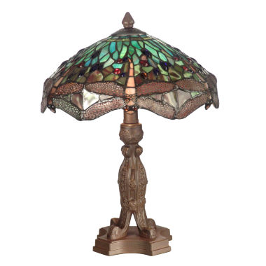 jcpenney.com | Dale Tiffany™ Meadowlark Dragonfly Table Lamp