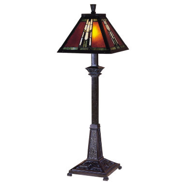 jcpenney.com | Dale Tiffany™ Amber Monarch Buffet Lamp