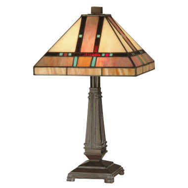 jcpenney.com | Dale Tiffany™ Hyde Park Mission Table Lamp
