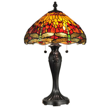 jcpenney.com | Dale Tiffany™ Reves Dragonfly Table Lamp