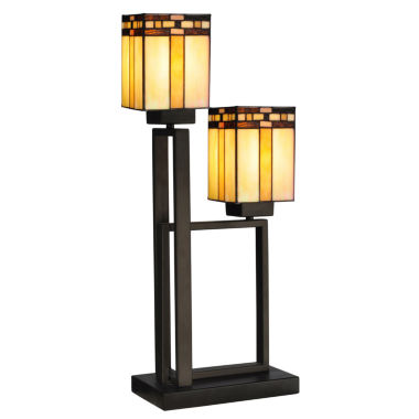 jcpenney.com | Dale Tiffany™ 2-Light Biscayne Table Lamp