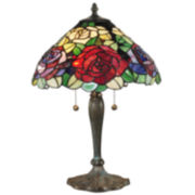 Dale Tiffany™ Tiffany Rose Table Lamp