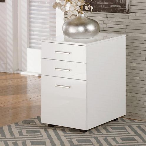 Signature Design by Ashley® Baraga 3-Drawer File Cabinet