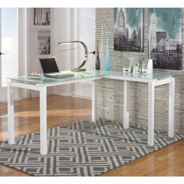 jcpenney.com | Signature Design by Ashley® Baraga L-Shaped Desk