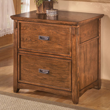 jcpenney.com | Signature Design by Ashley® Cross Island Lateral File Cabinet
