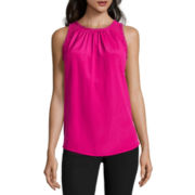 Worthington® Lace Ruffled Tank Top