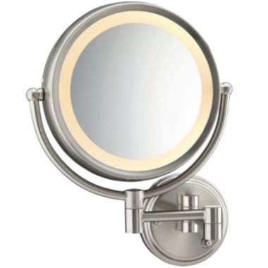jcpenney.com | Conair BE6WMX Fluorescent Satin Nickel Wall-MountMirror