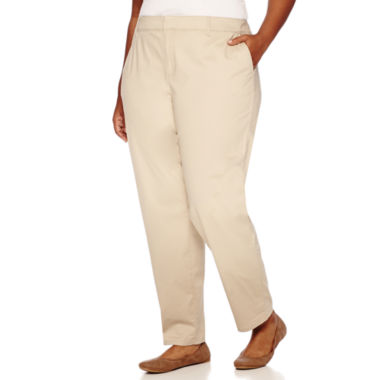jcpenney.com | Liz Claiborne® City Fit Twill Pants - Plus