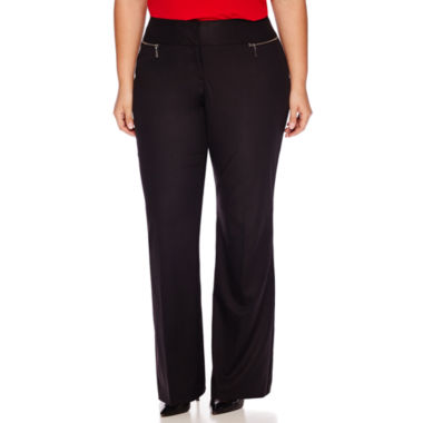 jcpenney.com | Worthington® Modern-Fit Zipper-Pocket Pants - Plus