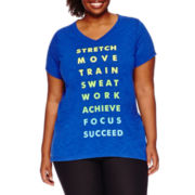 Xersion™ Short-Sleeve Graphic Tee - Plus