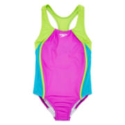 Speedo® Mesh Splice 1-pc. Swimsuit - Girls 7-16