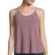 Arizona Swing Tank Top, Long-Sleeve Boyfriend Plaid Shirt or High-Rise Denim Shorts