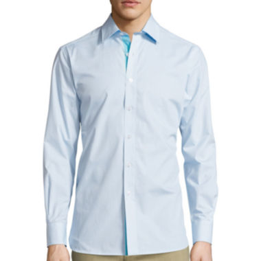 jcpenney.com | International Report Long-Sleeve Woven Button-Front Shirt