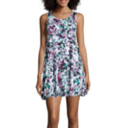 Decree® Sleeveless Swing Tunic Dress - Juniors