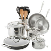 Calphalon® Tri-Ply 8-pc. Stainless Steel Cookware Set + BONUSES