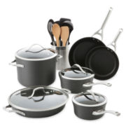 Calphalon® Contemporary 8-pc. Hard-Anodized Nonstick Cookware Set + BONUSES