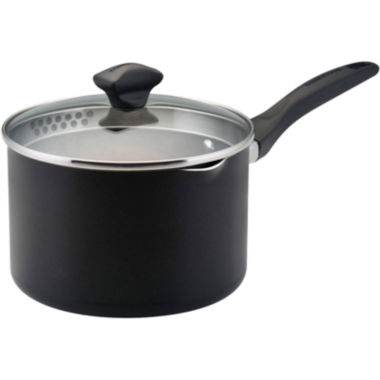 jcpenney.com | Farberware® 3-qt. Nonstick Covered Straining Saucepan