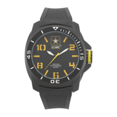 jcpenney.com | Wrist Armor® C25 Mens US Army Rubber Strap Chronograph Watch