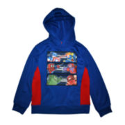 Pixel Fight Graphic Long-Sleeve Hoodie - Boys 6-18