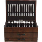 Reed & Barton Provincial Cherrywood Two-Drawer Flatware Storage Chest