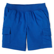 Okie Dokie® Knit Shorts - Boys 12m-6y