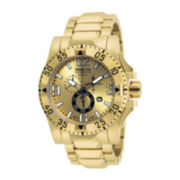 Invicta® Mens Excursion Gold-Tone Chronograph Watch