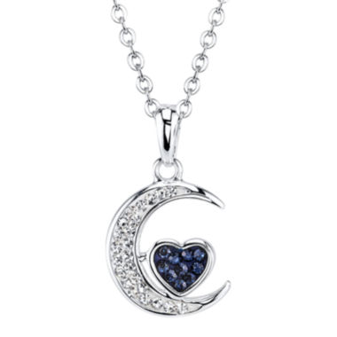 jcpenney.com | Crystal Sophistication™ Crystal-Accent Moon Pendant Necklace