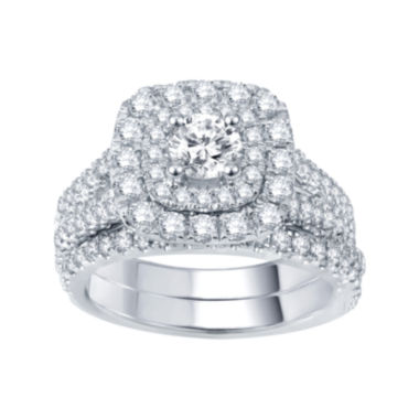 jcpenney.com | Modern Bride® Signature 2 CT. T.W. Certified Diamond Bridal Set