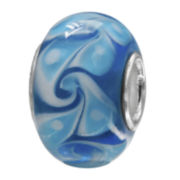 Forever Moments™ Swirls of Blue Charm Bracelet Bead