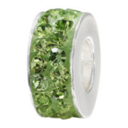 Forever Moments™ Green Crystal Spacer Bead
