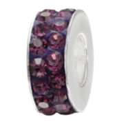 Forever Moments™ Purple Crystal Spacer Bead