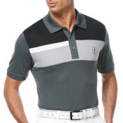 PGA TOUR® Pro Series Linear Block Chest Polo